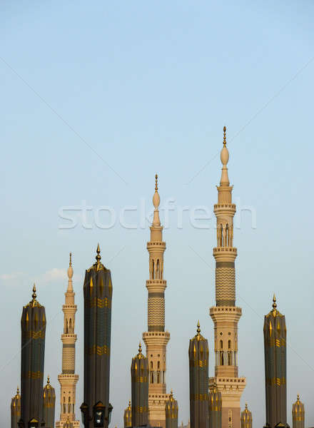 Minaret of Prophet Mosque Stock photo © azamshah72