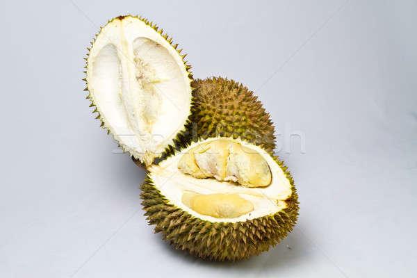 Opened Durian Stock photo © azamshah72