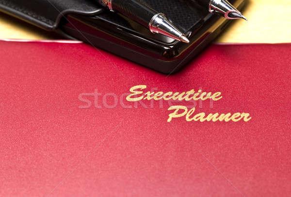 executive Planner Series V Stock photo © azamshah72