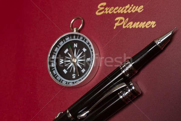 Irányítás tervező kilátás sötét piros igazgató Stock fotó © azamshah72