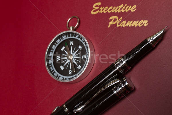 Concept-Business Direction Planner II Stock photo © azamshah72