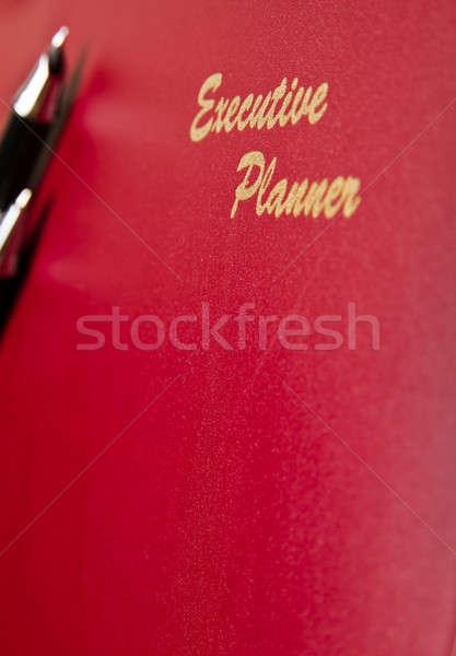 Executive Planner Angled View Stock photo © azamshah72
