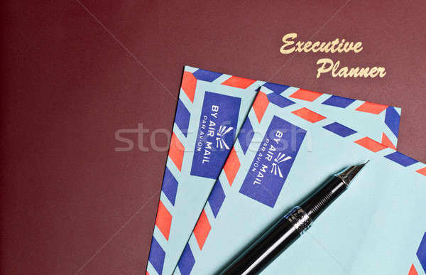 Concept - Planning Correspondence Stock photo © azamshah72