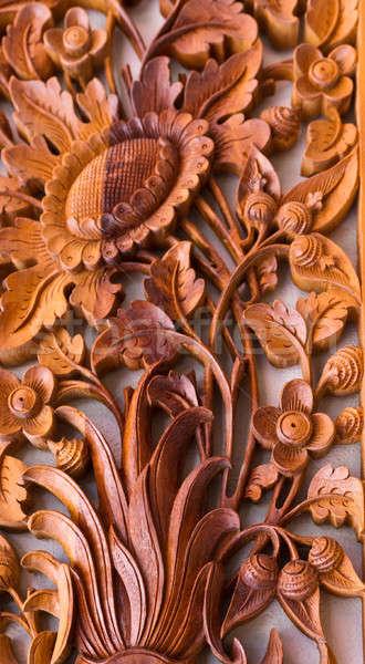 Wood Art Panel Stock photo © azamshah72