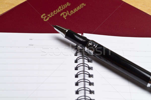 Executive Planner with Note Book V Stock photo © azamshah72