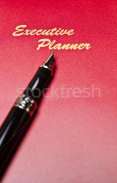 Executive Planner With Pen Stock photo © azamshah72
