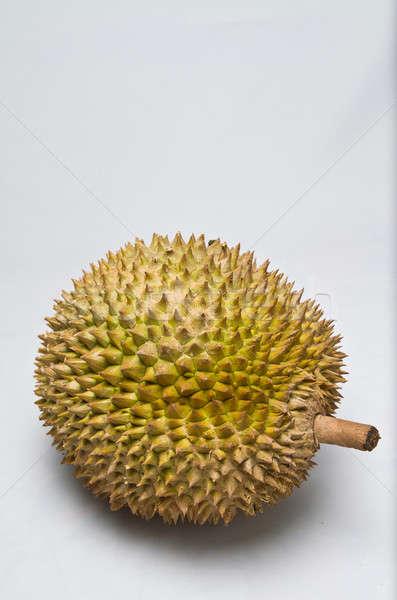 whole Durian Closeup II Stock photo © azamshah72
