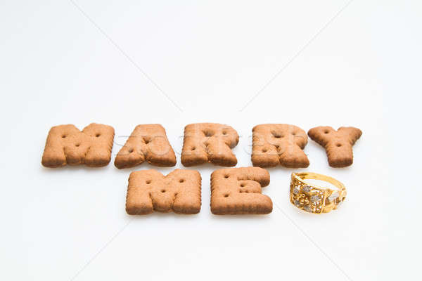 Marry Me With Ring Stock photo © azamshah72