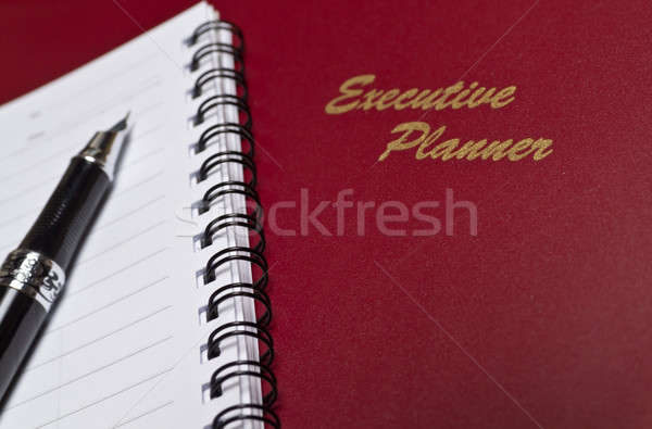 Executive Planner with Note Book III Stock photo © azamshah72