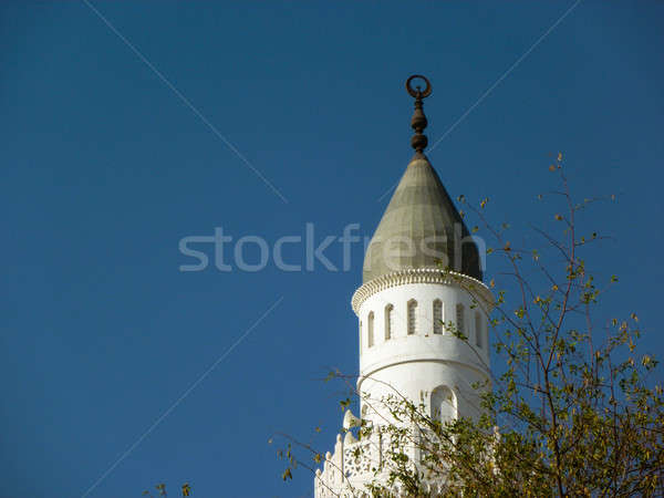 Minaret of Quba Mosque Stock photo © azamshah72