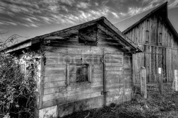 Abandoned Barn Stock photo © Backyard-Photography