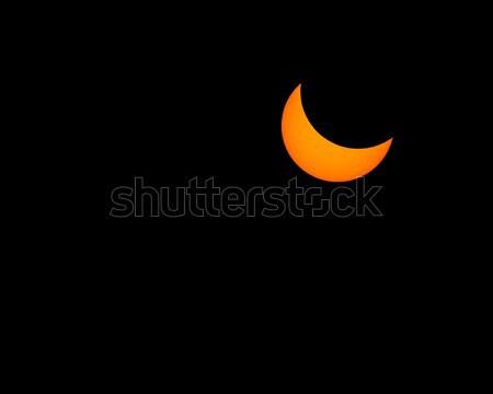 Groot amerikaanse eclips augustus hemel Stockfoto © Backyard-Photography