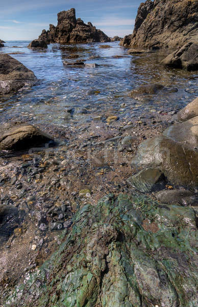Rocky Beach Landscape Stock photo © Backyard-Photography