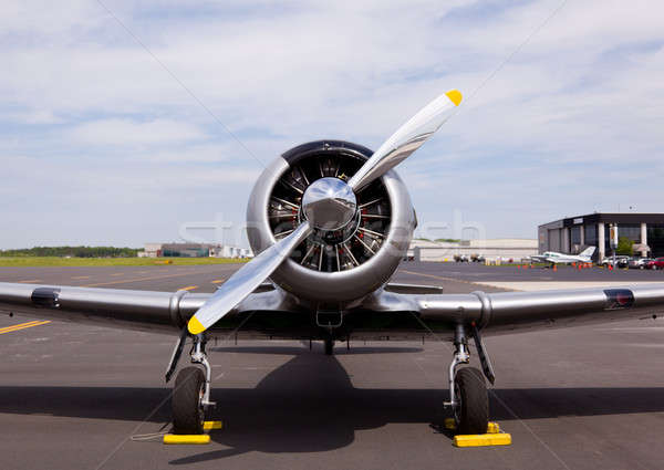 American AT-6 Texan plane Stock photo © backyardproductions