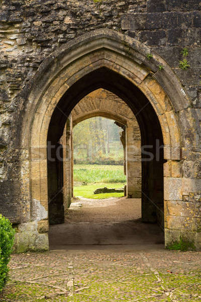 Minster Lovell in Cotswold district of England Stock photo © backyardproductions