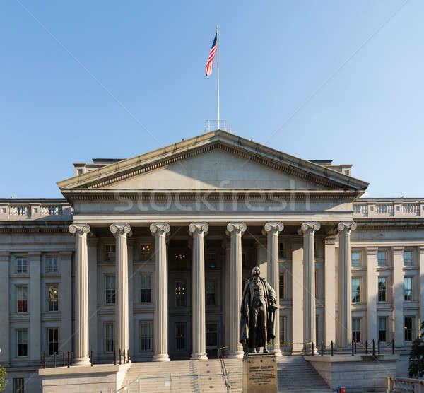 Treasury Building Washington DC Stock photo © backyardproductions