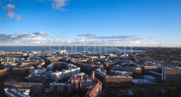 Moderne Tallinn stad Estland oostzee Stockfoto © backyardproductions