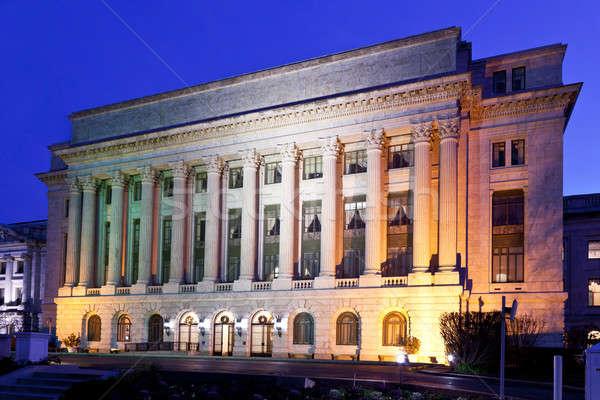 Afdeling landbouw kantoorgebouw Washington DC nacht kantoor Stockfoto © backyardproductions