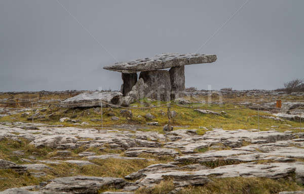 Poulnabrone Dolmen in Ireland Stock photo © backyardproductions