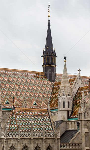 Mattias Church in Castle Hill Budapest Stock photo © backyardproductions