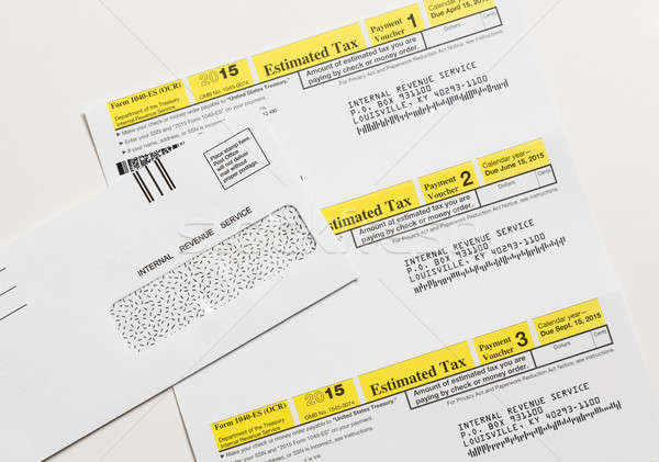 Adóhatóság adó űrlap belső jövedelem szolgáltatás Stock fotó © backyardproductions