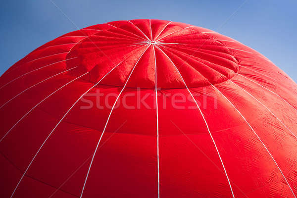 Hot air balloon - red Stock photo © backyardproductions