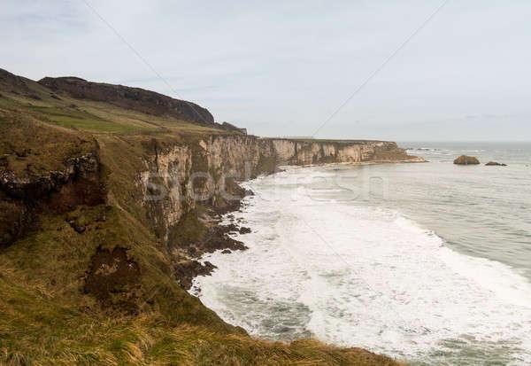 Coastline of Northern Ireland Antrim Stock photo © backyardproductions