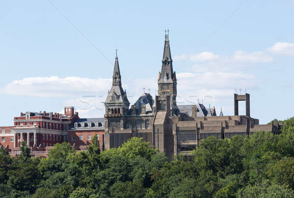 Healy Hall Georgetown University Stock photo © backyardproductions