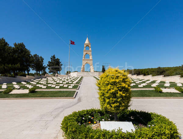 Memorial stone at Anzac Cove Gallipoli Stock photo © backyardproductions