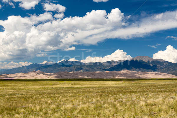 Панорама песок широкий парка Колорадо Сток-фото © backyardproductions