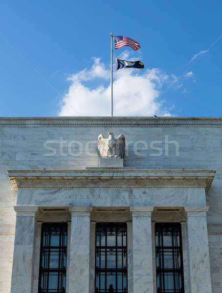 Federal Reserve building HQ Washington DC Stock photo © backyardproductions