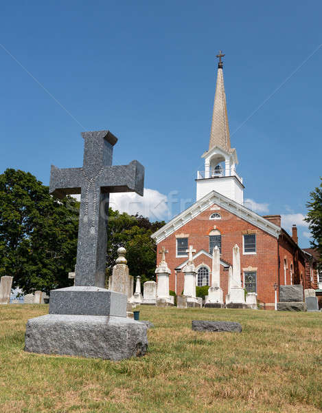 Stock photo: St Ignatius church Chapel Point Maryland