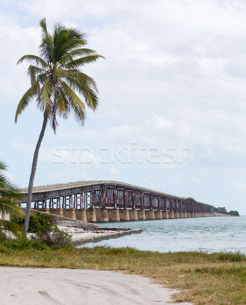 Florida sleutels rail brug erfgoed parcours Stockfoto © backyardproductions