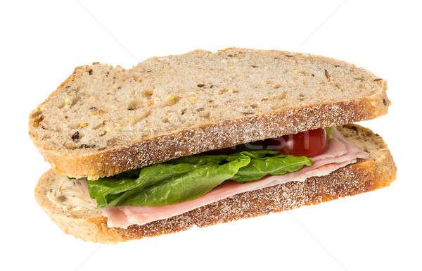English multigrain bread ham sandwich  Stock photo © backyardproductions