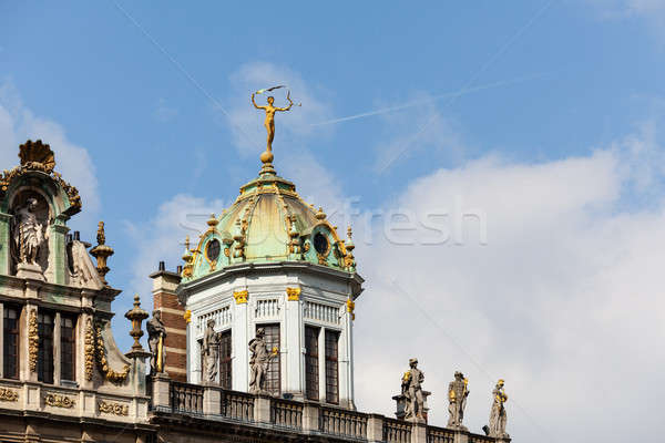 Maison du Roi d Espagne in Brussels Stock photo © backyardproductions