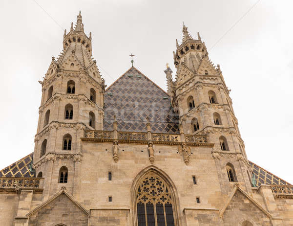 St Stephens Cathedral in Vienna Stock photo © backyardproductions