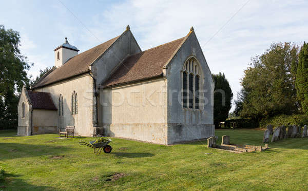 Ancient church in Shelland Suffolk Stock photo © backyardproductions