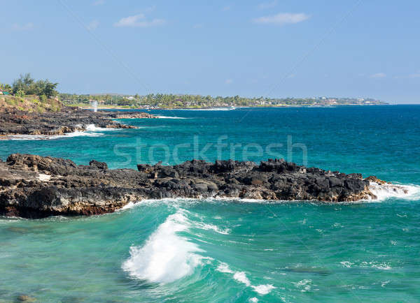 Coastline near Koloa on Kauai Stock photo © backyardproductions