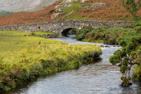 Stone bridge over river by Wastwater Stock photo © backyardproductions