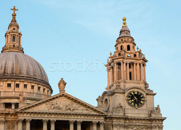 St Pauls Cathedral Church London England Stock photo © backyardproductions