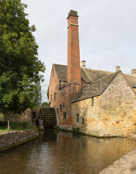 Old Mill in Cotswold district of England Stock photo © backyardproductions