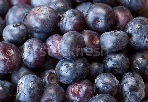 Macro shot of Blueberries Stock photo © backyardproductions