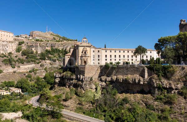 Cuenca in Castilla-La Mancha, Spain Stock photo © backyardproductions