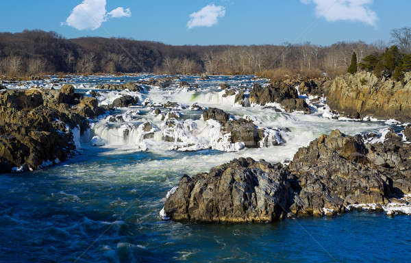 Great Falls on Potomac outside Washington DC Stock photo © backyardproductions