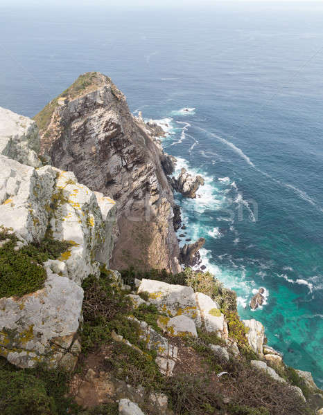 Rocky shoreline Cape Point Stock photo © backyardproductions