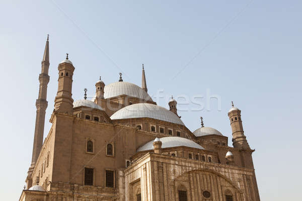 Alabaster Mosque Citadel Cairo Egypt Stock photo © backyardproductions