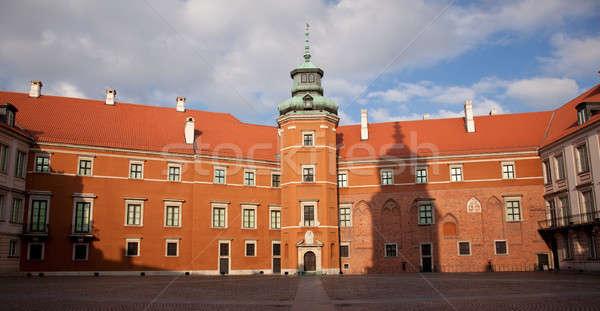 Royal Palace Warsaw Stock photo © backyardproductions
