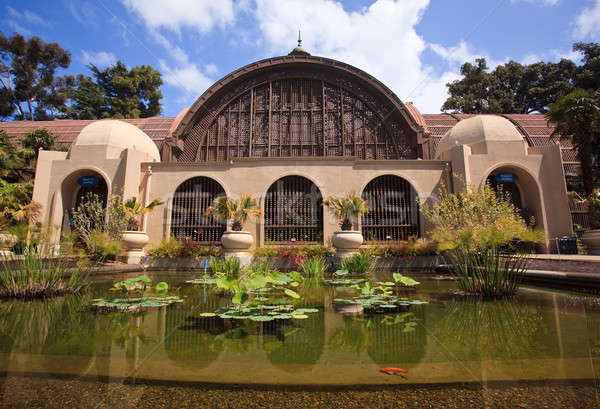 Botanical Building in Balboa Park in San Diego Stock photo © backyardproductions