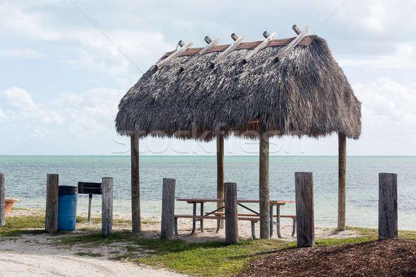 Флорида ключами семь моста пикника маршрут Сток-фото © backyardproductions