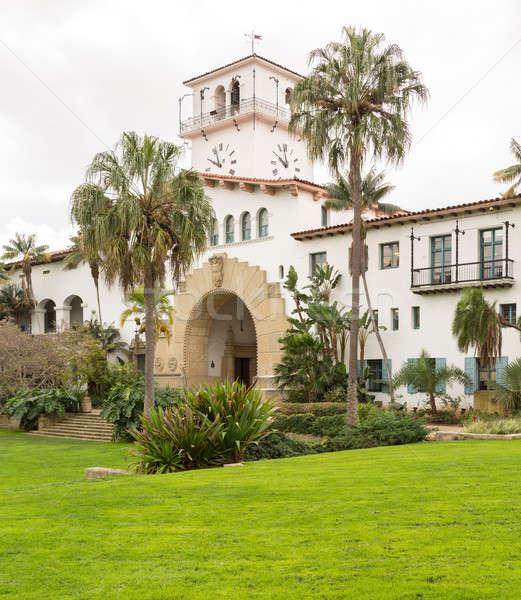 Exterior Santa Barbara Courthouse California Stock photo © backyardproductions